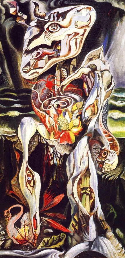 André Masson. Le labyrinthe